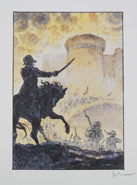 Storming The Bastille art by Milo Manara