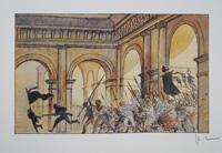 The Throng of Revolution art by Milo Manara
