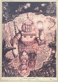 Diving Armour - Chester E. Macduffee - 1911 art by Stan Manoukian