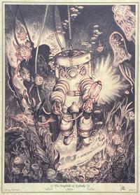 Diving Armour - The Neufeldt & Kuhnke - 1914 art by Stan Manoukian