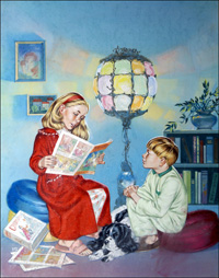 A Bedtime Story art by Angus McBride