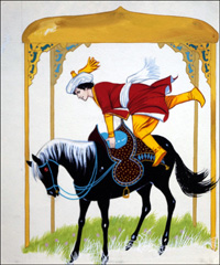 The Prince and the Flying Horse art by Angus McBride