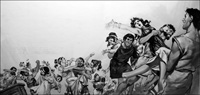 Rape of the Sabine Women art by Angus McBride