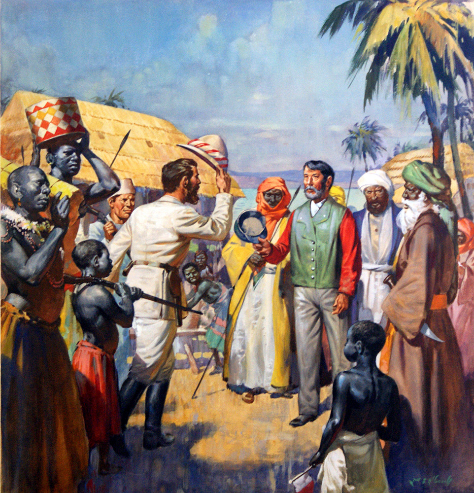Livingstone I Presume : 'Dr Livingstone, I presume …' (Original) (Signed) by James ...
