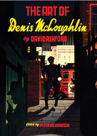The Art of Denis McLoughlin (Deluxe edition) by David Ashford, edited by Peter Richardson