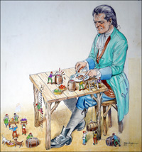 Gulliver - Table For One art by Philip Mendoza