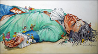 Gulliver - Playhour art by Philip Mendoza