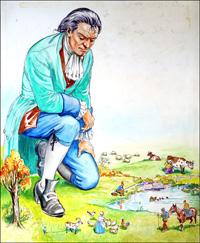 Gulliver - Life On The Farm art by Philip Mendoza