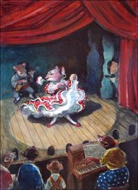 Flamenco Night art by Philip Mendoza