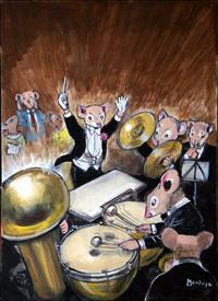 Orchestral Favourites art by Philip Mendoza