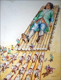 Gulliver - Heavy Load art by Philip Mendoza