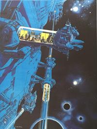 The Last Additional Train: Space Train by Jean-Claude Mézières