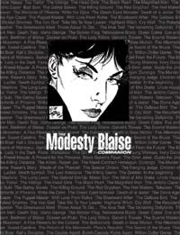 The Modesty Blaise Companion (Deluxe Printers Proof #3 of 16) (Signed) (Limited Edition)