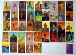 Moebius Collector Cards: Complete Set of 90 cards