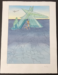 The Crystal Gate (Limited Edition Print) (Signed) by Moebius