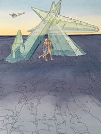 The Crystal Gate by Moebius (Jean Giraud)