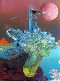 Futurs Magiques 5 art by Moebius (Jean Giraud)