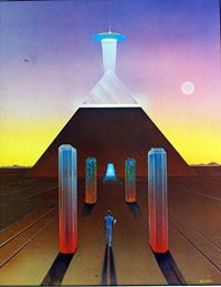 Futurs Magiques 8 art by Moebius (Jean Giraud)