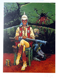 Major Grubert by Moebius (Jean Giraud)