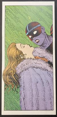 The Kiss art by Moebius (Jean Giraud)