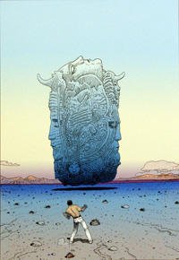 Les Planches du Major 1 art by Moebius (Jean Giraud)