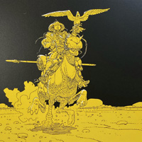 Sinjuku - Warrior of the Plains art by Moebius (Jean Giraud)