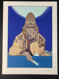 Starwatcher IV by Moebius (Jean Giraud)
