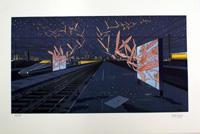 The Station art by Moebius (Jean Giraud)
