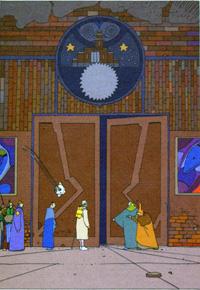 The Doorway art by Moebius (Jean Giraud)