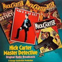 Nick Carter Master Detective - Original Radio Broadcast (vinyl record) by Various