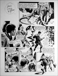 Labyrinth - Lizard (TWO pages) art by Mike Noble