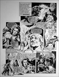 Labyrinth - Umpire (TWO pages) art by Mike Noble