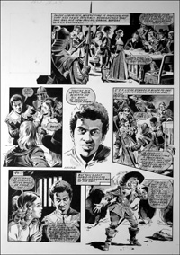 Labyrinth - Oranges (TWO pages) art by Mike Noble