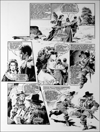 Labyrinth - Nell (TWO pages) art by Mike Noble