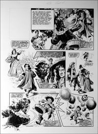 Labyrinth - Balloons (TWO pages) art by Mike Noble