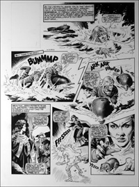 Labyrinth - Dolphin (TWO pages) art by Mike Noble