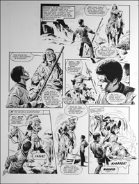 Labyrinth - Geronimo (TWO pages) art by Mike Noble