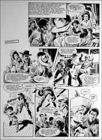 Labyrinth - Saloon (TWO pages) art by Mike Noble