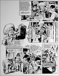 Labyrinth - Undertaker (TWO pages) art by Mike Noble