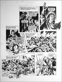 Robin of Sherwood - Wyke Beast (TWO pages) art by Mike Noble