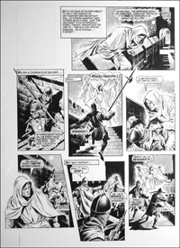 Robin of Sherwood - Ghost (TWO pages) art by Mike Noble