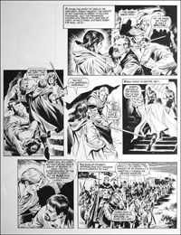 Robin of Sherwood - Spectre (TWO pages) art by Mike Noble