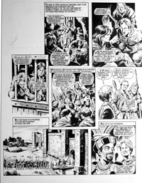 Robin of Sherwood - Relish (TWO pages) art by Mike Noble