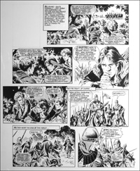 Robin of Sherwood - Not Dead At All (TWO pages) art by Mike Noble