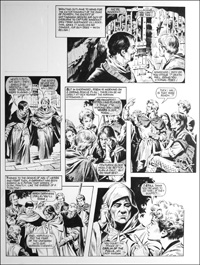 Robin of Sherwood - Carlin of the Fells (TWO pages) art by Mike Noble