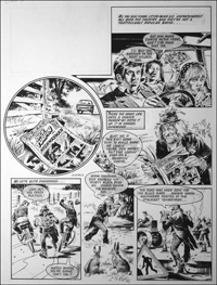 Worzel Gummidge is Dick Turpin - Complete Story art by Mike Noble