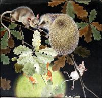The Cloak of Daggers - The Hedgehog art by David Nockels