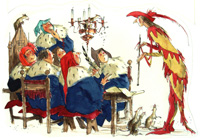 The Pied Piper of Hamelin 1 art by Richard O Rose