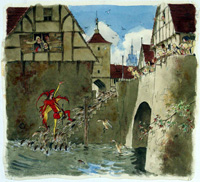 The Pied Piper of Hamelin 5 art by Richard O Rose