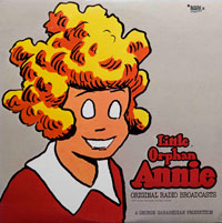 Little Orphan Annie - Original Radio Broadcast (vinyl record) by Various